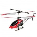 Rechargeable 3.5-CH IR Remote Controlled R/C Helicopter w/ Gyro - Red + Black + White