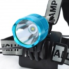 600lm 3-Mode White Light Headlamp / Bicycle Light - Blue (4 x 18650)