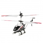 Rechargeable 3.5-CH IR Remote Controlled R/C Helicopter w/ Gyro - White