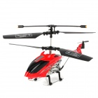 Mini 2,5-CH IR Remote Controlled R / C Helicopter - Red + Black + Silver