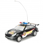 1:20 Scale 2-CH 27MHz Radio Control R/C Racing Car Model - Black (3 x AA / 2 x AA)
