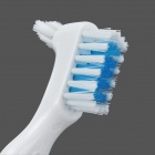 Professional Toothbrush for Dentures - White
