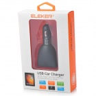 4-Port USB Car Charger cigarro Produzido para Iphone / Samsung Galaxy Series / HTC - Preto