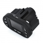 "Mini 1.5 ""TFT 5.0MP Car Wide Angle DVR Camcorder - preto"