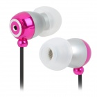JBM E-611 3.5mm Plug In-Ear Earphone - Deep Pink (118cm)