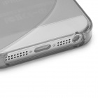 Protective TPU Back Case for Iphone 5 - Translucent Grey