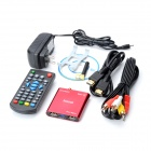 Jesurun Mini Xplus II Android 4.0 Media Player w/ Wi-Fi / 1GB RAM / 4GB ROM / HDMI / AV - Red