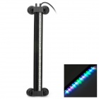 Aquarium Fish Tank 12-LED Colorful Color Changing Bubble Dive Light Lamp - Black (AC 100~240V)