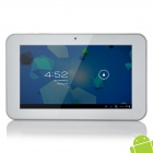 "N77 7.0"" Capacitive Screen Android 4.0 Tablet PC w/ TF / Wi-Fi / Camera - White"