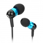 JBM HJ407 In-Ear Earphone - Blue + Black (3.5mm Plug / 110cm)