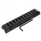 Aluminum Alloy Tactical Long Gun Rail Mount w/ Hex Wrench