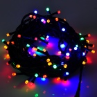 6W 100-LED 8-Mode Colorful Light Decorative LED String Light (10m / AC 220V)