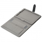 Protective PU Leather Case w/ Stand for Ipad 2 / The New Ipad - Black