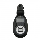 "0.8"" LCD Car MP3 Player FM Transmitter w/ Micro SD / SD / IR Remote Controller - Black"