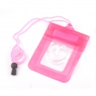 PANNOVO Universal Waterproof Protective PVC Camera Bag - Pink