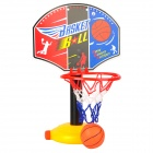 Einstellbare Kunststoff Child Basketball Shelf Play Set