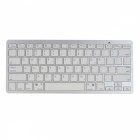 Bluetooth V3.0 Wireless 78-Key Keyboard - White ( 2 x AAA)