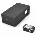 Near Field Audio Wireless Amplifying Speaker for Iphone / Ipod / Cellphone - Black (3 x AA)
