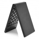 Foldable Mini Bluetooth V3.0 80-Key Keyboard for Iphone / Ipad / Cellphone / Laptop - Black