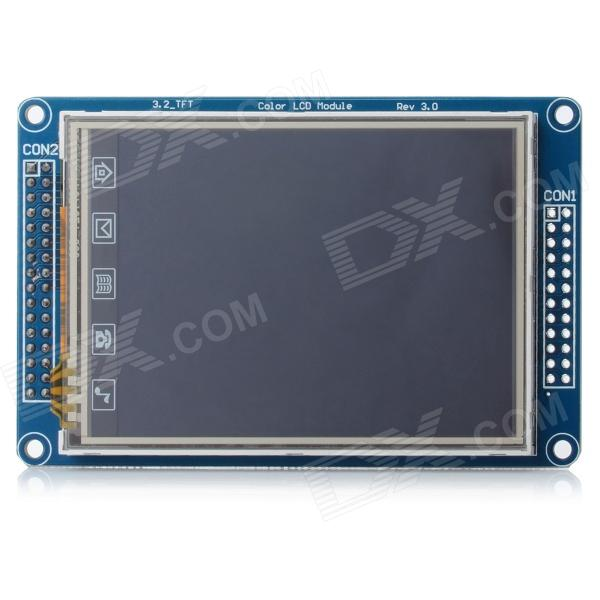 3.2 TFT LCD Resistive Touch Screen Module w/ SD Slot zhiyusun tr4 057f 24 132mm 99mm 132 99 navigation vehicle5 7 inch resistive touch screen for industry applications