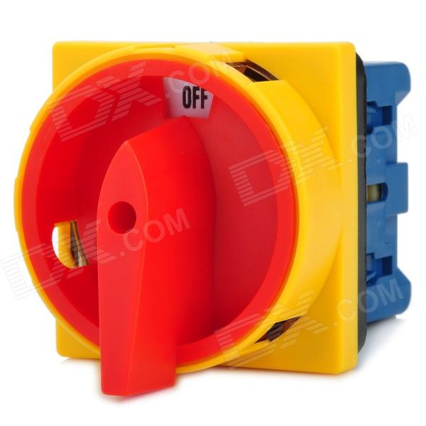 20408 Industrial Circuit Breaker Switch - Red + Yellow (AC 500V)