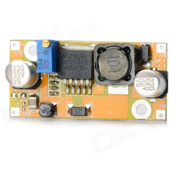 03100134 LM2577 Adjustable DC~DC Boost Power Module Board - Yellow