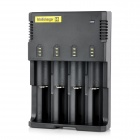 NITECORE Universal Intelligent 4-Slot Rechargeable Battery Charger (2-Flat-Pin Plug / 100~240V)