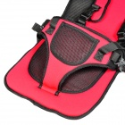 Multi-function Car Safety Harness Seat Cover Cushion - Red