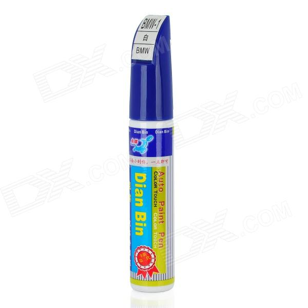BMW-1 Car Body Paint Scratch Repair Pen for BMW - White (12ml) honda nh623m silver auto body paint scratch repair pen 12ml