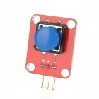 OPENJUMPER OJ-XM1119 Button Module w/ Cap for Arduino (Works with Official Arduino Boards)