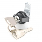 DIY Zinc Alloy Electric Cabinet Lock / Drawer Lock - Black + Silver