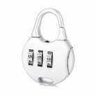 CJSJ CR-15B Mini Alloy Password Code Lock - Silver