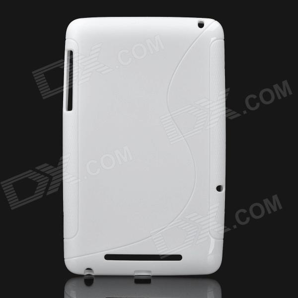 Protective TPU Back Case for Google Nexus 7 - White