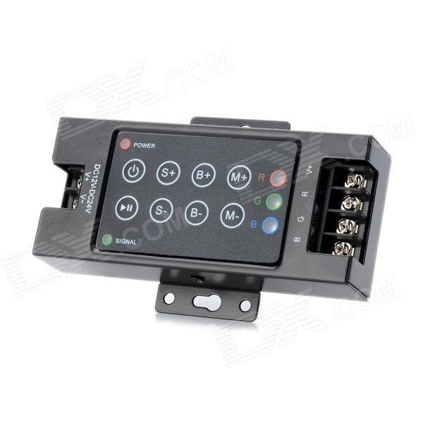 8-Key RGB Controlador para LED Light Strip (DC 12 ~ 24V)
