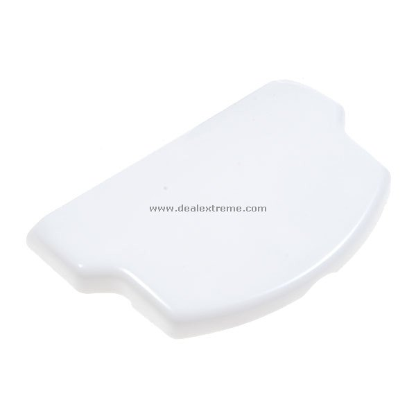 Replacement White Battery Cover for PSP 2000 (For Thick Battery One)