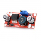 Jtron DC 4.5~35V to 1.25~30V Adjustable Voltage Step Down Module - Red