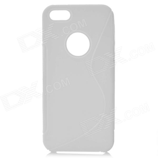 Housse de protection en TPU pour Iphone 5 - Blanc