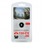 Magnet Mount Conversion 180 Degree Fish Eye Lens for Iphone / HTC / Samsung - Silver