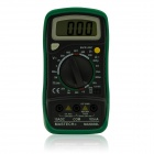 "MAS830L 1.8"" LCD Digital Multimeter - Black + Green (1 x 6F22)"