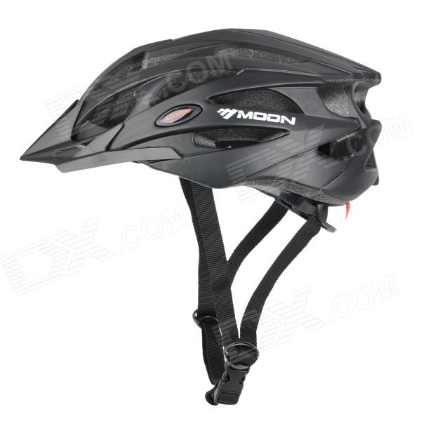 MOON BH-29 Outdoor Bike Bicycle Cycling Riding Helmet - Black