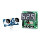 Ultrasonic Ranging Module Display Distance Alarm