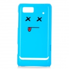 NILLKIN Protective PC Plastic Case w/ Screen Protector for Motorola XT685 - Blue