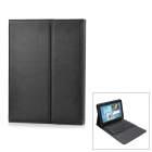 Bluetooth V3.0 76-Key Keyboard w/ PU Leather Case for Samsung Galaxy Note N8000 - Black