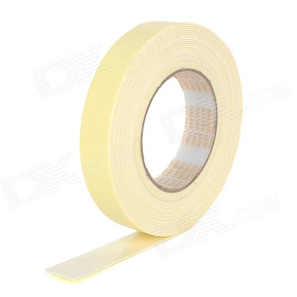 Double Sided Ultra Adhesive Foam Tape - Yellow (9M) 150mm 55m 300lse pet ultra strong adhesion double sided sticky tape for electronics touch panel nameplate frame display assemble