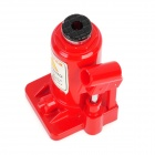 Hydraulic Bottle Lifting Jack Style Butane Gas Lighter - Red