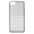 Fashion Protective Silicone Case für iPhone 5 - Grey