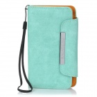 KALAIDENG Protective PU Leather Flip-Open Case for Sony LT26W - Green