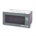 TPM-900 3-Digit 2.0'' Screen Digital Thermometer Panel - Purple + Grey