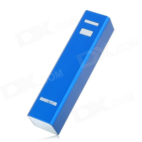Aierma AM-722 2200mAh External Mobile Power Battery Charger for iPhone / Cellphone - Blue