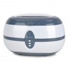 Multi-Function 35W Ultrasonic Cleaner - Grey (600ml)